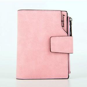 Кошелек Baellerry Carteira mini Pink на молнии