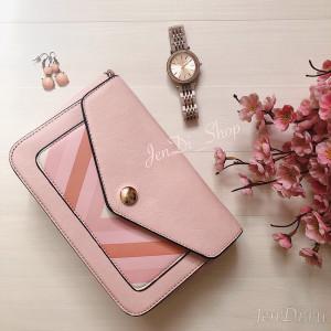 Сумка JenDi 02 Pink через плечо розовая