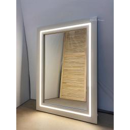 Зеркало с подсветкой JenDi 100x70 Слоновая кость